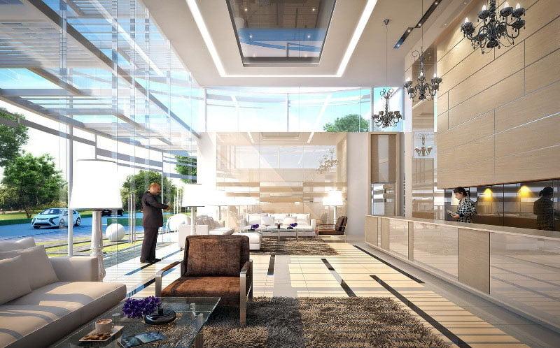 Grand Avenue Pattaya ロビー