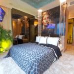 The Riviera Monaco ベッドルーム