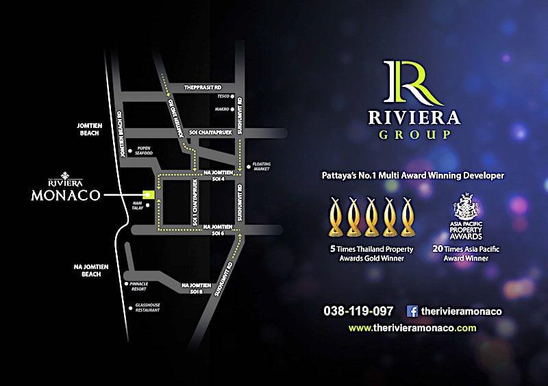 The Riviera Monaco マップ